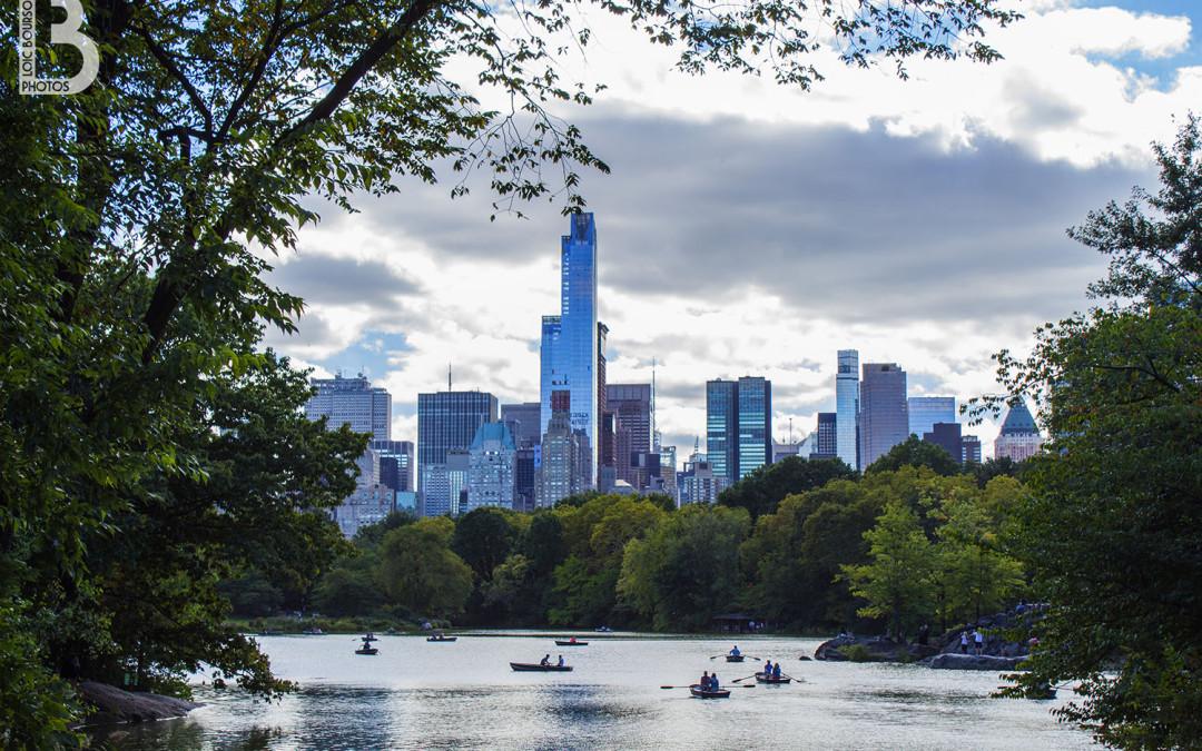 Barques à Central Park