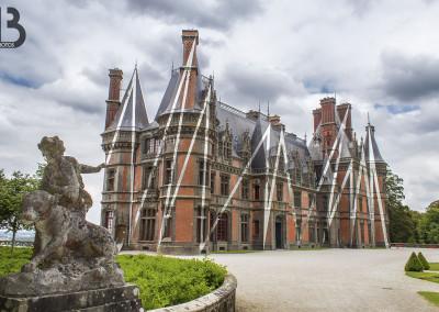 Château de Trévarez – zigzags