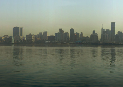 Panoramique de la ville de Durban