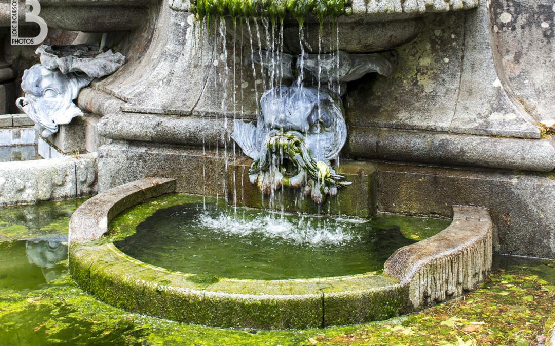 Fontaine au domaine de Trévarez