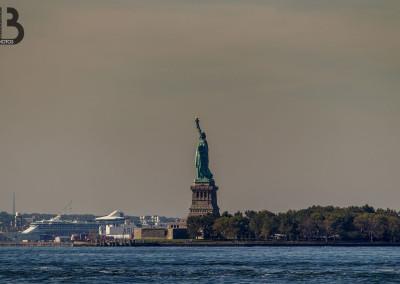 La statue de la libertée