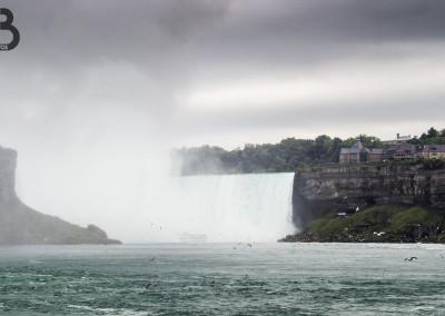 Les chutes du Niagara côté Canada