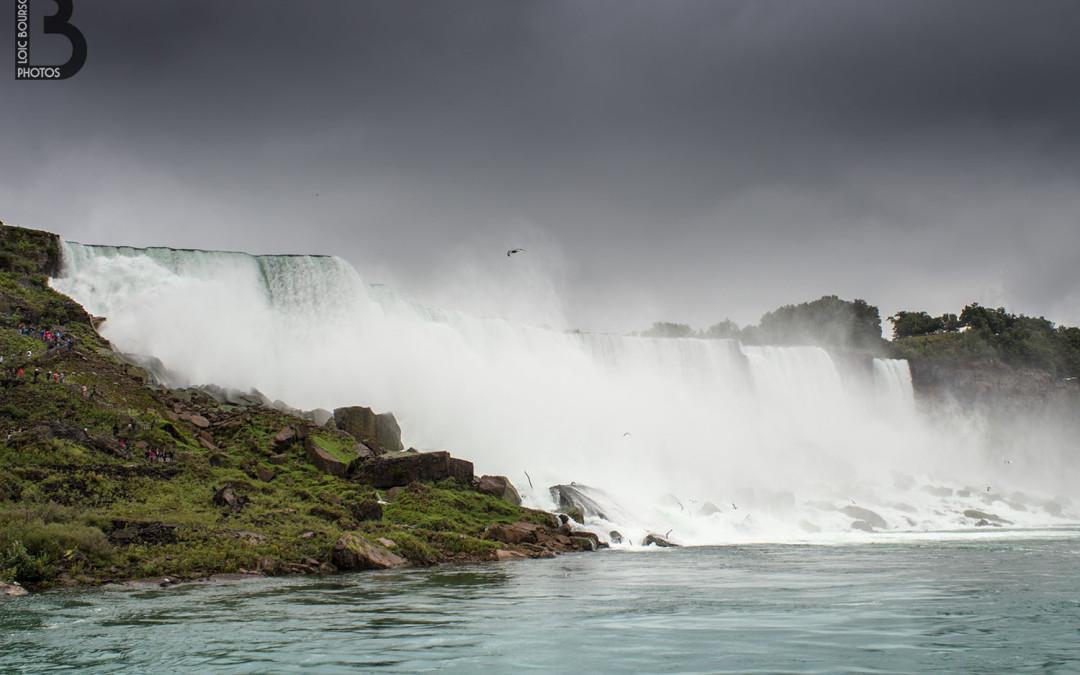 Les chutes du Niagara côté US