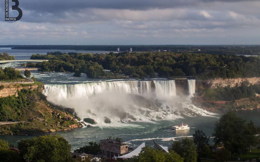 Les chutes du Niagara vu de la grande roue
