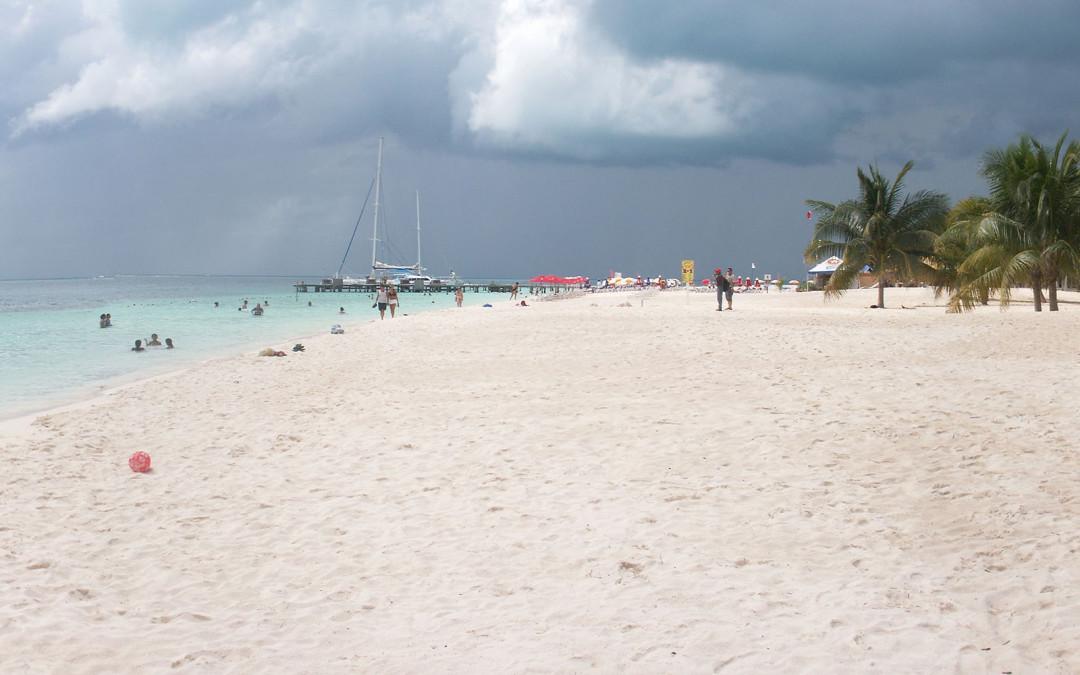 Plage d'Isla Mujeres, à côté de Cancun