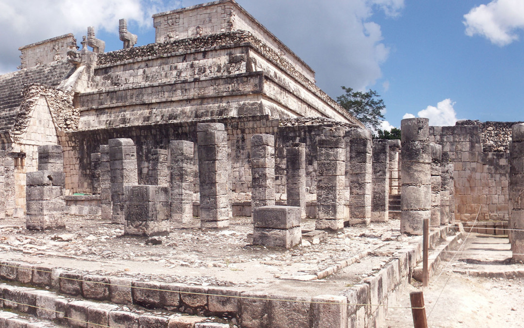 Panoramique de Chichen Itza