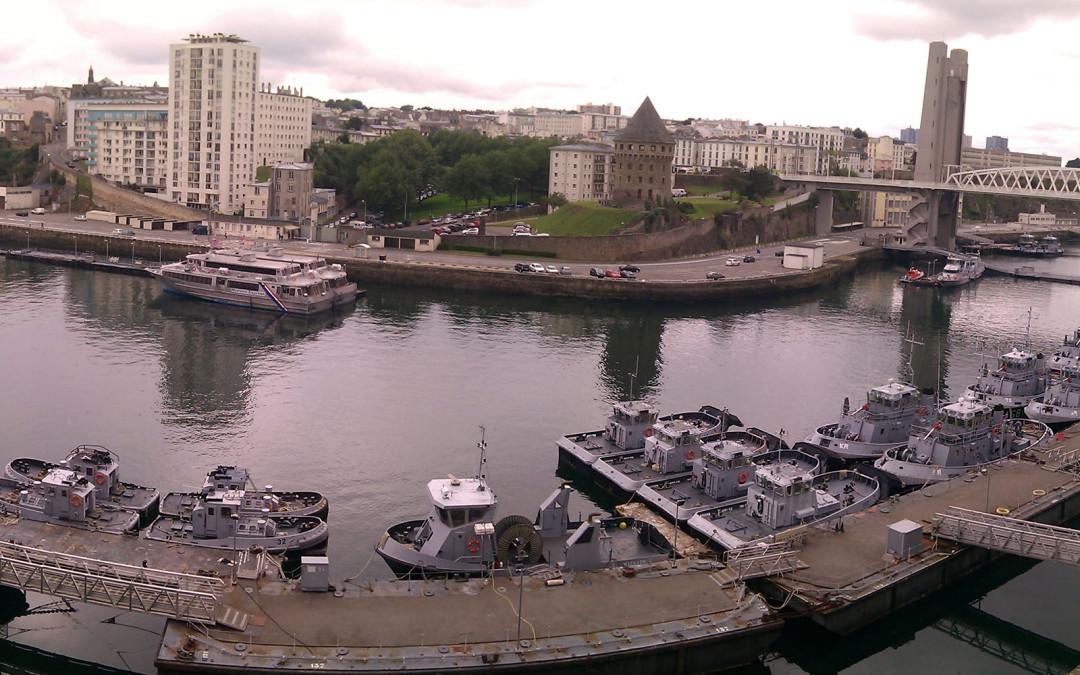 Panoramique du chateau de Brest